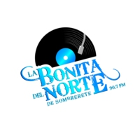 Logo of radio station La Bonita del Norte de Sombrerete 90.7FM