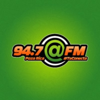 Logo of radio station XHTJ @FM 94.7 FM