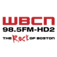 Logo of radio station WBCN - FM
