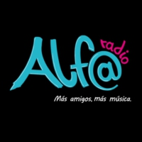 Logo of radio station ALFA Super Stereo 104.1 FM0
