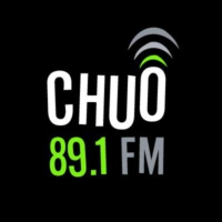 Logo of radio station CHUO 89.1 FM