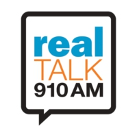 Logo of radio station KKSF Real Talk 910