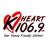 Logo of radio station KHRT 106.9