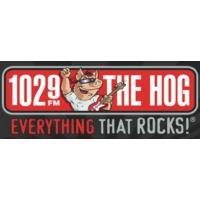 Logo of radio station WHQG The Hog 102.9 FM