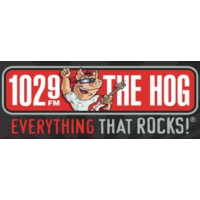Logo de la radio WHQG The Hog 102.9 FM