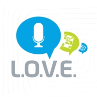Logo of radio station L.O.V.E. Radio