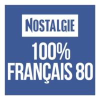 Logo de la radio Nostalgie 100% Français 80