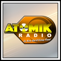 Logo of radio station Atomik Radio