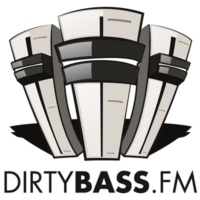 Logo of radio station DirtyBassFM