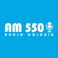 Logo of radio station AM550 RADIO COLONIA