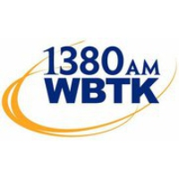 Logo of radio station WBTK