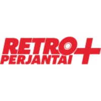 Logo of radio station Retroperjantai+