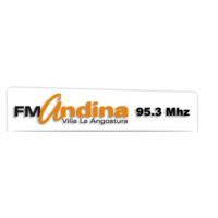 Logo of radio station FM Andina 95.3