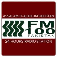 Logo of radio station FM 100 Karachi