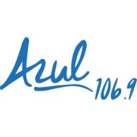 Logo de la radio XHAC Azul 106.9