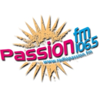 Logo of radio station Passion FM 106.5