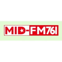 Logo of radio station MID FM 76.1