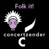 Logo of radio station Concertzender Folk It!