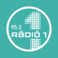 Logo of radio station Rádió 1 Debrecen