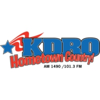 Logo of radio station KDRO