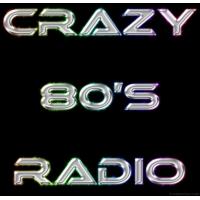 Logo of radio station Crazy 80's Radio