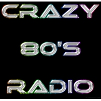 Logo of radio station Crazy 80's Radio