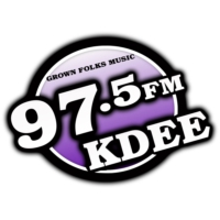 Logo of radio station KDEE 97.5