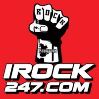 Logo of radio station IROCK247