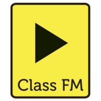 Logo de la radio Class FM, a rádió