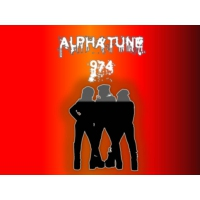 Logo of radio station alpha tune 974