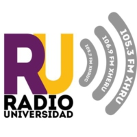 Logo of radio station XHERU Radio Universidad 106.9 FM
