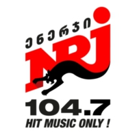 Logo of radio station NRJ FM 104.7