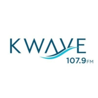Logo of radio station KWVE-FM K-Wave 107.9