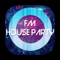 Logo of radio station FM House Party
