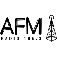 Logo of radio station AFM