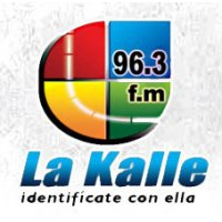 Logo of radio station La Kalle 96.3 FM