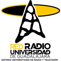 Logo of radio station XHUGP Universidad Puerto Vallarta 104.3 FM