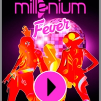 Logo of radio station MILLENIUM FEVER