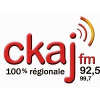Logo of radio station CKAJ 92.5