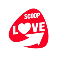 Logo of radio station SCOOP Love
