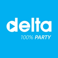 Logo de la radio Delta FM Party