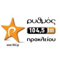 Logo of radio station Rythmos 104.5 FM
