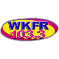 Logo of radio station WKFR 103.3