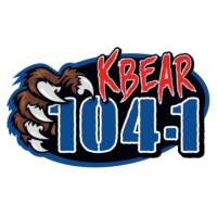 Logo of radio station KBRJ KBEAR 104.1