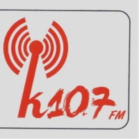 Logo of radio station K107 fm