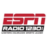 Logo of radio station ESPN 1230