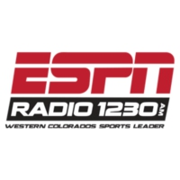 Logo of radio station ESPN 1230