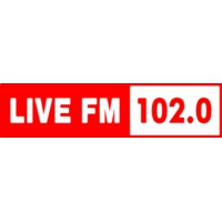 Logo of radio station Live FM 102.0