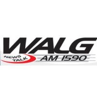 Logo of radio station WALG 1590