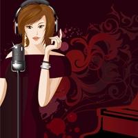Logo of radio station JAZZRADIO.com - Contemporary Vocals